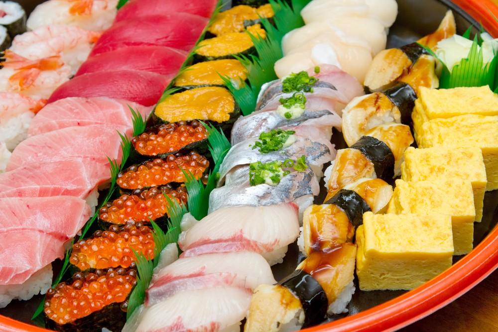 敬老の日 お寿司